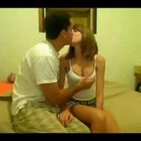 Amateur couple leaked sex tape
