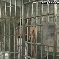 White Guy In jail Gets Fucked By Female