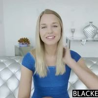 BLACKED Perfect Blonde Girl Squirts on Big Black Cock