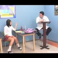 Lazy student offers teacher some hot pleasure