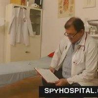 Hidden cam in gyno hospital