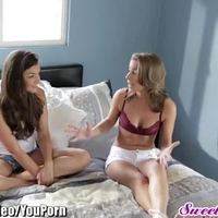 SweetHeart Allie Haze and Presley Hart Lesbian Ass Licking