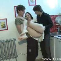 Unplanned threesome