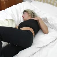 Amateur MILF showing off her body and masturbating