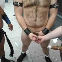 Cumming in public