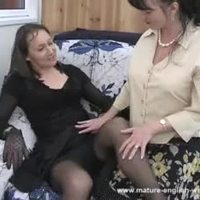 Mature English Cilla & Hazel