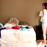 Nubile Films - Cute teen lesbian lovers