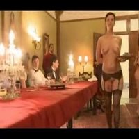 BDSM orgy in a pervert mansion Part 2
