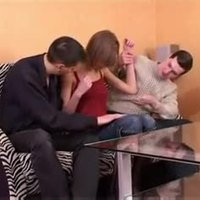 Amateur - Russian Teen BareBack MMF Threesome